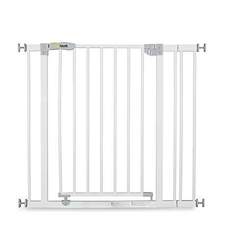 Hauck Türschutzgitter / Treppenschutzgitter für Kinder Open N Stop Safety Gate inkl. 9 cm Verlängerung /...