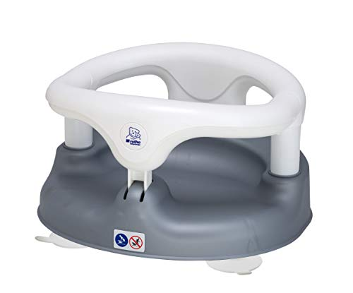 Rotho Babydesign Badesitz, Mit aufklappbarem Ring inkl. Kindersicherung, 7-16 Monate, Bis max. 13kg, BPA-frei,...