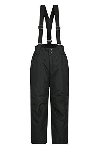 Mountain Warehouse Raptor Skihose für Kinder - Taschen, schneedichte Hose, abnehmbare Träger &...