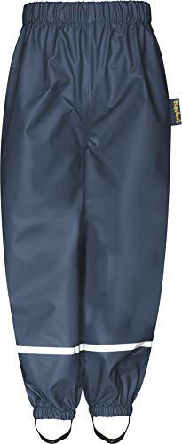 Playshoes Baby-Unisex Fleece-Halbhose Regenhose, Blau (Marine 11), 116