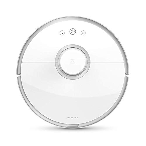 Xiaomi Roborock Saugroboter (Staubsager, Kehrmaschine, Wischfunktion, LDS Sensoren, App Steuerung) Weiß