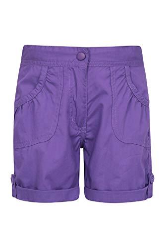 Mountain Warehouse Shore Shorts für Kinder - Kindershorts aus 100% Baumwolle, Kurze Atmungsaktive Hose,...
