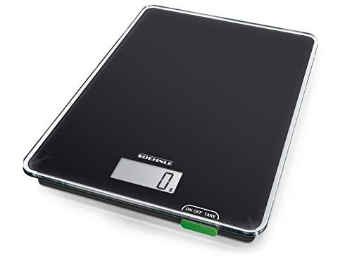 Soehnle Page Compact 100, digitale Küchenwaage, Gewicht bis zu 5 kg (1-g-genau), Haushaltswaage mit...