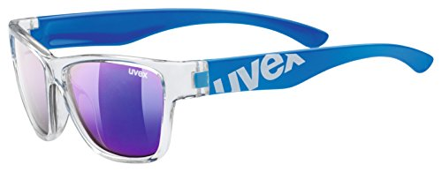 uvex Unisex Jugend, sportstyle 508 Sonnenbrille, clear blue, one size