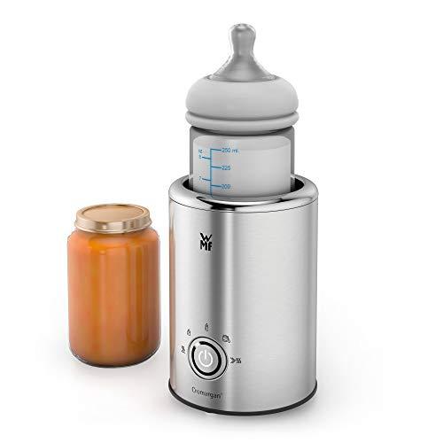 WMF Lono Babykost- und Flaschenwärmer, Cromargan, 5 Funktionsprogramme, Flaschen-Durchmesser bis zu 72mm, 140...