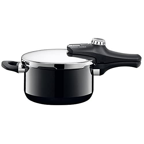 Silit Sicomatic econtrol Schnellkochtopf 4,5 L, Silargan Funktionskeramik, 3 Kochstufen Einhand-Drehregler...