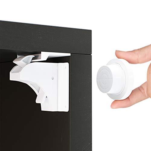 Magnetische Kindersicherung Schrank und Schubladen von Avantina® - 21 x Schranksicherung – unsichtbare...