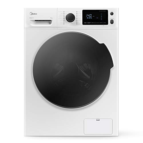 Midea Waschmaschine W 5.740 / 7KG Fassungsvermögen / Energieeffizienzklasse A+++ / Reload - Nachlegefunktion...