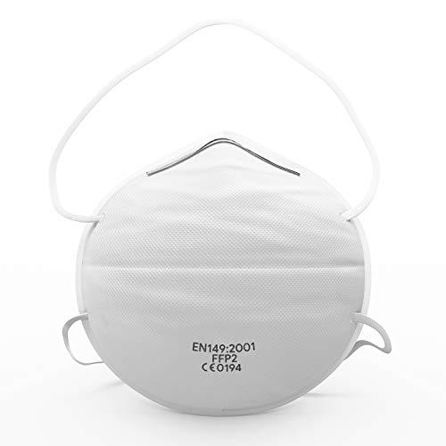 Atemschutzmaske FFP2 (10 STK.) - Ultimativer Atemschutz & Tragekomfort - Premium Sicherheitsmasken für...