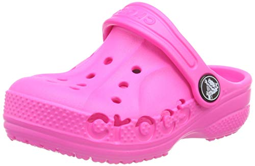Crocs Unisex-Kinder Baya Clogs, Pink (Neon Magenta 6l0), 23/24 EU
