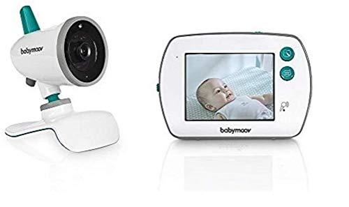Babymoov YOO-Feel Video-Babyphone, 3,5 Zoll Touchscreen-Empfänger, Nachtsicht, 2-fach Zoom,...
