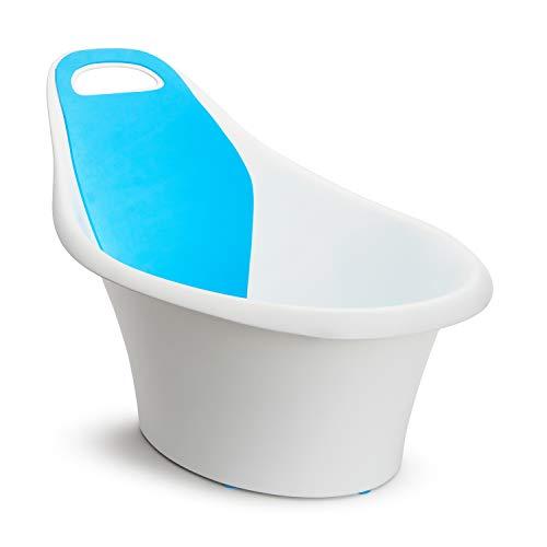 Munchkin Sit and Soak Baby-Badewanne mit integrierter Sitzstütze und gepolsterter Rückenlehne,...