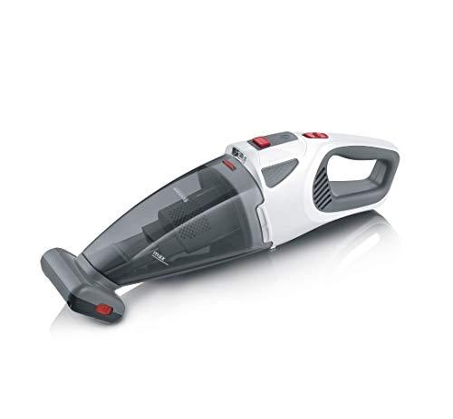 SEVERIN 4-in-1 Akku-Handstaubsauger, kabelloser Handstaubsauger für Autositze, Tierhaare und Flüssigkeiten,...