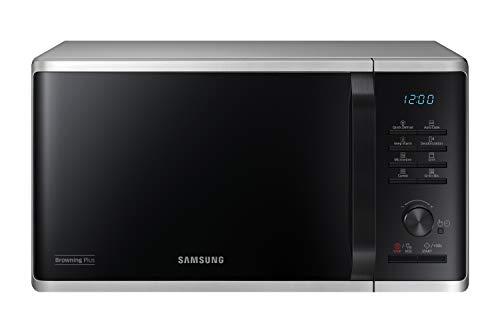 Samsung MG23K3515AS/EG Mikrowelle mit Grill / 800 W / 23 L Garraum / 48,9 cm Breite / Quick Defrost / 27...