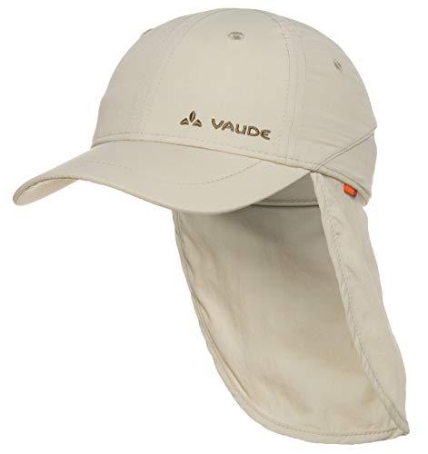 VAUDE Kinder Mütze Sahara Cap III, Offwhite, M, 03136 UPF 40+