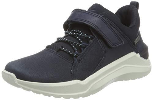 Ecco Jungen Intervene Sneaker, Blau (Night Sky/Night Sky/Night Sky 51142), 28 EU