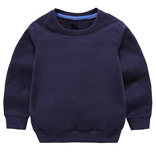 Taigood Kinder Pullover für Jungen Baumwolle Sweatshirt Langarm T Shirts Pullover Herbst Winter Alter 1-7...
