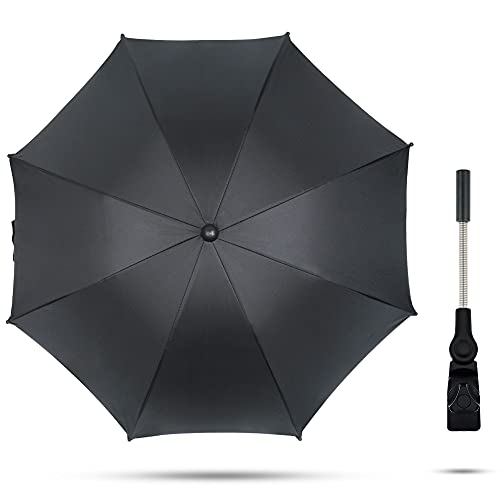 TBoonor Sonnenschirm kinderwagen Universal Regenschirm Sonnenschutz für Kinderwagen & Buggy UV Schutz SPF 50+...