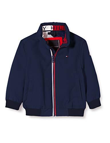 Tommy Hilfiger Jungen Essential Jacket Jacke, Blau (Twilight Navy 654-860 C87), 6-7 Jahre (Herstellergröße:...
