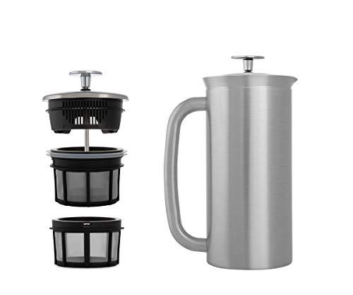 ESPRO French Press P7, Kaffee Stempelkanne mit Thermofunktion, Coffee-Maker, Kaffeezubereiter, 950ml,...