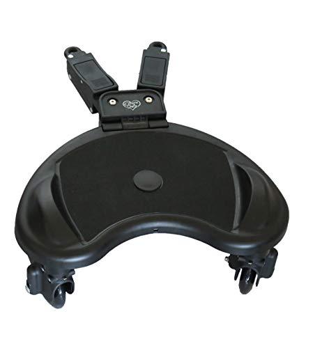 Buggyboard Elternstolz Kiddyboard Trittbrett Für Kinderwagen Rollbrett Buggy Board (Board Ohne Sitz)