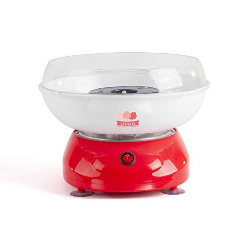 Zuckerwattemaschine für Zuhause Kindergeburtstag 500 Watt (Zuckerwatte Schale, 27 cm, Spritzschutz,...