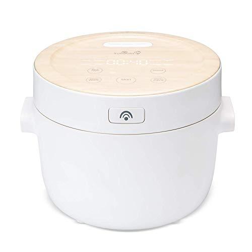 Yum Asia Fuji UMAI Reiskocher mit Induktionsheizung (IH) und handgefertigter Keramikschale (4 Tassen, 0,7...