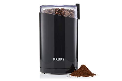 Krups F20342 Kaffeemühle und Gewürzmühle in Einem | Leistungsstarker Motor | Mahlgrad variabel | 75g...