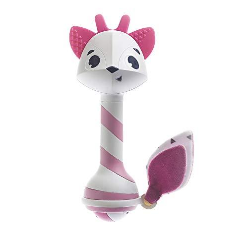 Tiny Love 2-in-1 Baby Rassel & Beißring Spielzeug, niedliche Babyrassel im Rehkitz Design mit Beißring und...