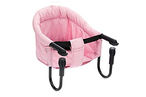 Fillikid Tischsitz | Faltbarer Babysitz | Stuhlsitz mit klappbarer Schraubfixierung | Boostersitz mit...