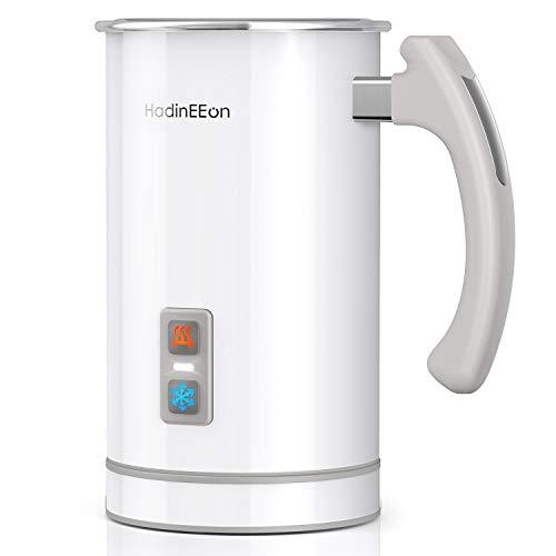 HadinEEon elektrisch Milchaufschäumer 500ml 650w Edelstahl Automatischer Milchschäumer Erhitzen und...