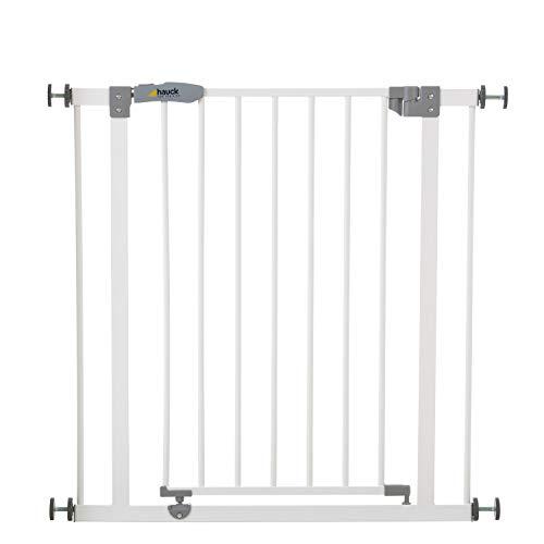 Hauck Türschutzgitter / Treppenschutzgitter für Kinder Open N Stop Safety Gate / ohne Bohren / 75 - 80 cm...