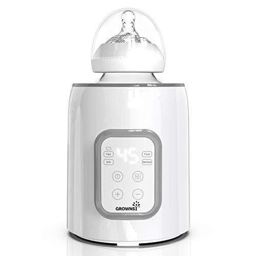 Flaschenwärmer baby Sterilisator für babyflaschen 5-in-1Fast Babynahrungsheizung Warmhalten von Babynahrung...