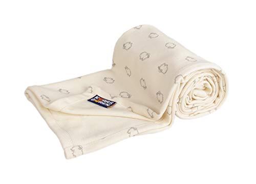 Kaarsgaren Baby und Kinder Bio-Baumwoll-Decke für den Sommer, Kuscheldecke für Jungen und Mädchen,...