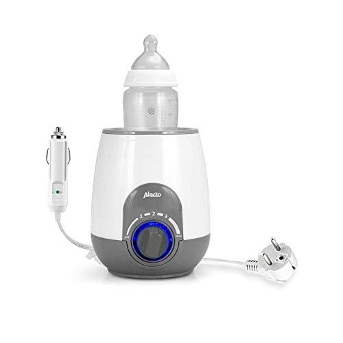 Alecto BW-512 CAR Babykost- und Flaschchenwärmer für unterwegs und zu Hause, mit Warmhaltefunktion,...