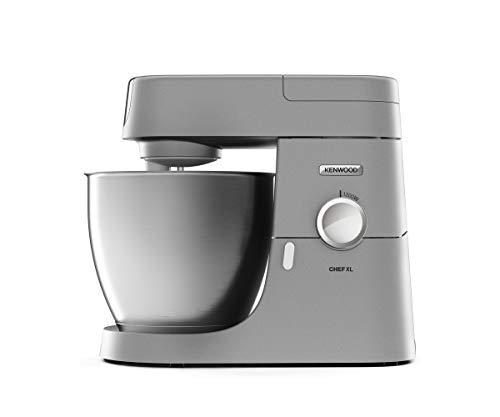 Kenwood Chef XL KVL 4110S – Küchenmaschine, 6,7 l Edelstahl-Rührschüssel & 1,5 l Acryl-Mixaufsatz,...