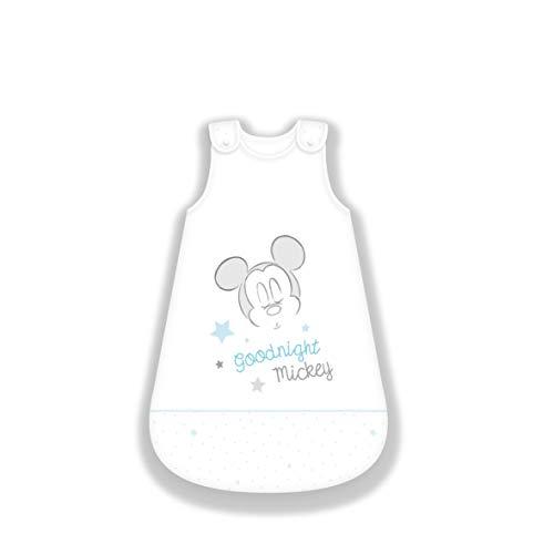 Herding Disney's Mickey Mouse Baby-Schlafsack, Baumwolle, weiß, 110 cm