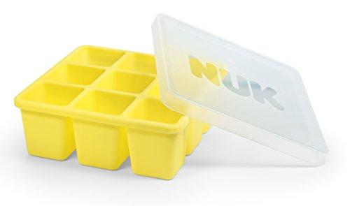 NUK 10255257 Fresh Foods Gefrierform zum Einfrieren von Babynahrung, neun Portionen à 60 ml, einzeln...