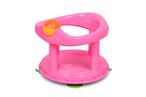 Safety 1st 360° drehbarer Badesitz, ergonomischer Sitz für die Badewanne mit Rollball und 4 Saugnäpfen,...