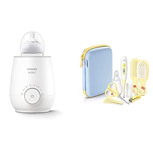 Philips AVENT SCF358/00 Flaschenwärmer für schnelles und gleichmäßiges Erwärmen von Milch & Babynahrung,...