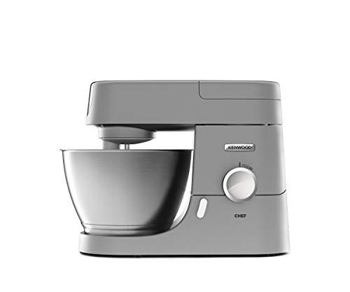 Kenwood Chef KVC3110S Küchenmaschine, 4,6 l Edelstahl Rührschüssel, Interlock-Sicherheitssystem,...