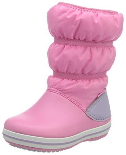 crocs Unisex-Kinder Crocband Winter Boot Kids Schneestiefel, Pink Lemonade Lavendel, 23-24 EU