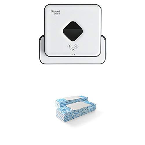 iRobot Braava 390t Wischroboter (für mehrere Räume und große Flächen, reinigt Flächen bis zu 92,9 m²)...
