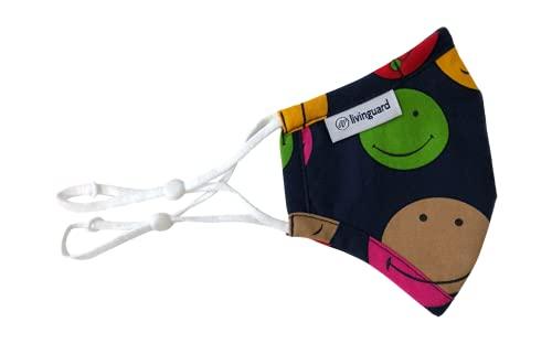 Livinguard - Kids Street MASK  Kinder Gesichtsmaske   Verstellbar, Waschbar, Wiederverwendbar Maske   Kinder...