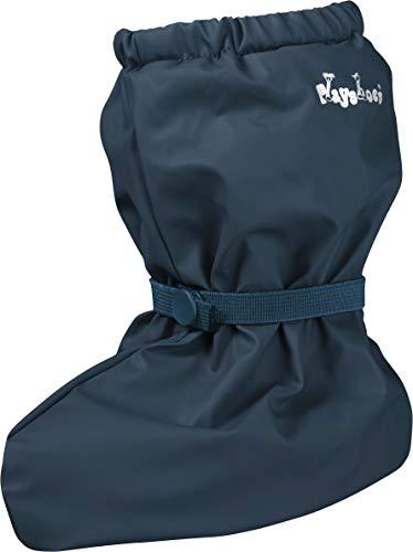 Playshoes Unisex Baby mit Fleece-Futter leichte Krabbel-Schuhe Krabbelschuhe Krabbel-Schuhe,  Blau (marine...