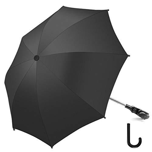 Baby Kinderwagen Regenschirm 73cm Durchmesser Universal Sonnenschirm Buggy Kinderwagen 50+ UV-Sonnenschutz mit...
