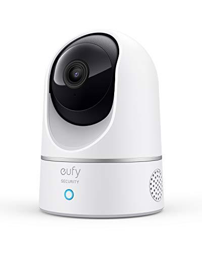 eufy Security Solo IndoorCam P24, 2K Überwachungskamera für Innenbereiche, Schwenk-Neige-Sicherheitskamera,...