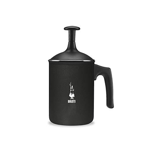 Bialetti Tuttocrema Aluminium, schwarz, 6 Tassen, 1L