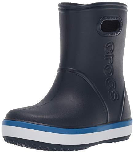 Crocs Unisex-Kinder Crocband Rain Boot K Gummistiefel, Blau (Navy/Bright Cobalt 4kb), 30/31 (C13)