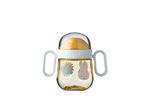 Mepal Mio – Antitropf-Trinklernbecher - Miffy explore – Trinklernbecher ab 6 Monate – Baby-Trinkbecher...